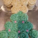 Dress Pull-a-part Cupcake Cake