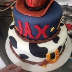 Rodeo Fondant Birthday - Front