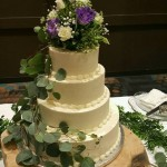4-Tiered Floral and Greens
