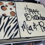 Animal Print Birthday