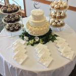 3-Tiered Wedding Cupcakes and Cakes