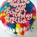 Rainbow Splatter Paint
