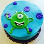 Vegan Fondant Monsters Inc