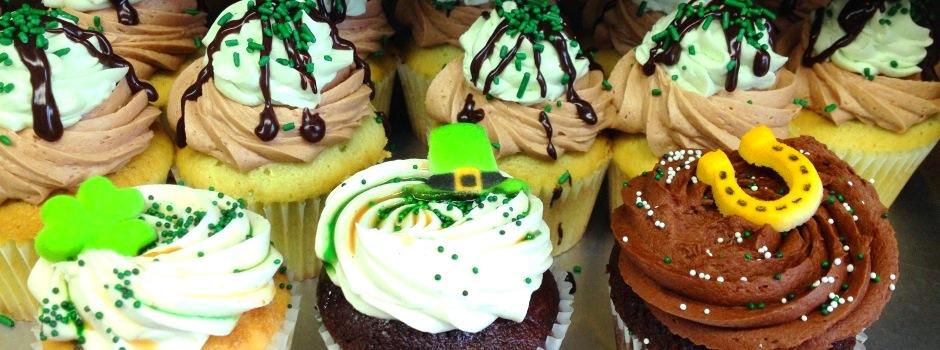 Saint Patrick's Day Cupcakes!